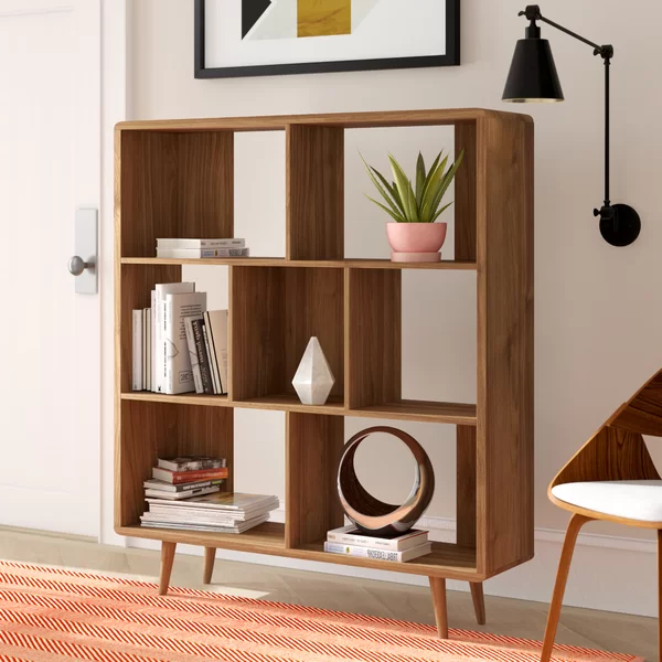 2019 Chapple Geometric Bookcase Throughout Mckibben Geometric Bookcases (Gallery 20 of 20)