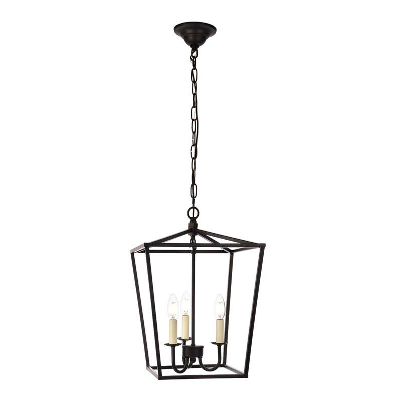 2019 Destrey 3 Light Lantern Square/rectangle Pendants Regarding Finnick 3 Light Lantern Pendant (View 17 of 30)