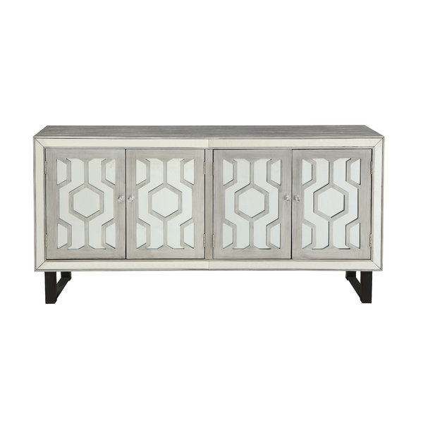 2019 Errol Media Credenzas Pertaining To Modern & Contemporary Dabria Media Credenza (Gallery 7 of 20)