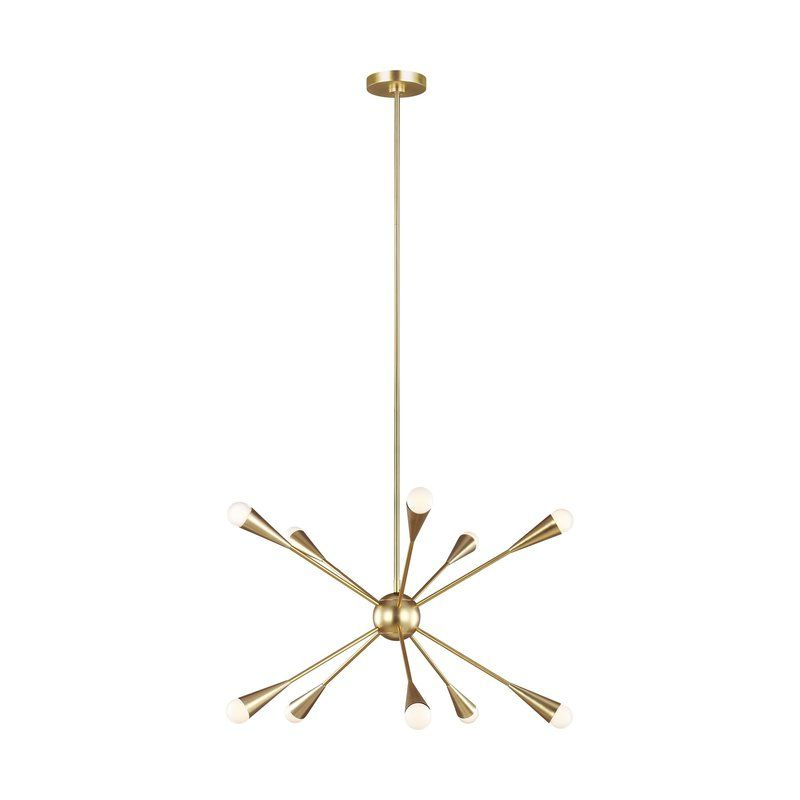2019 Jax 10 Light Sputnik Chandelier Within Nelly 12 Light Sputnik Chandeliers (View 1 of 30)