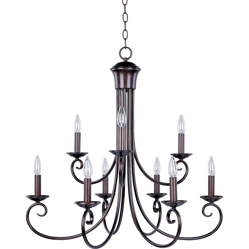 2019 Kenedy 9 Light Candle Style Chandelier Throughout Kenedy 9 Light Candle Style Chandeliers (View 3 of 30)