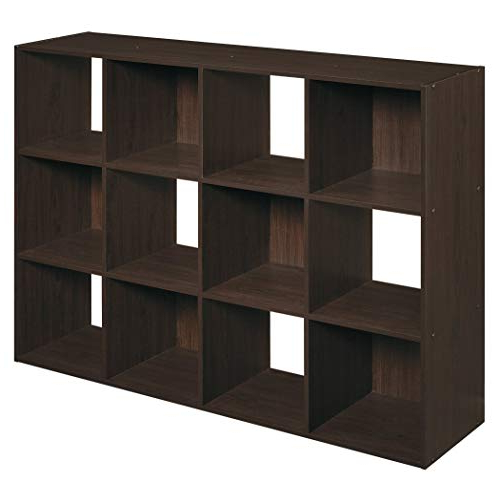 2019 Narrow Profile Standard Cube Bookcases For Low Bookshelf: Amazon (Gallery 8 of 20)