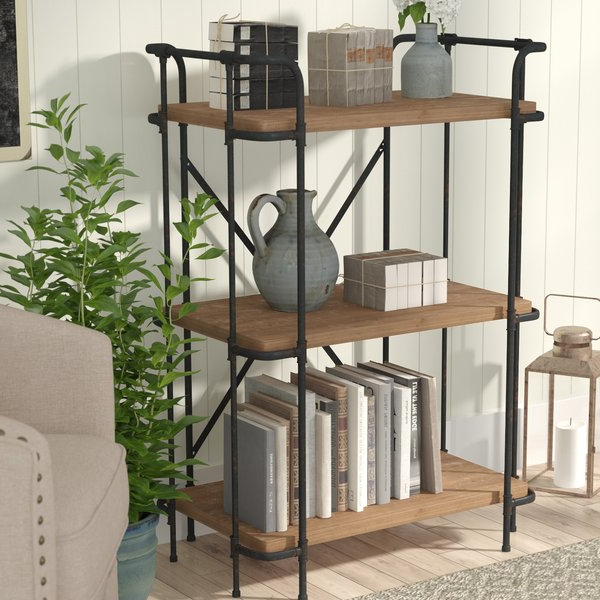 2019 Navarrette Etagere Bookcaselaurel Foundry Modern Farmhouse Inside Tinoco Storage Shelf Standard Bookcases (Gallery 19 of 20)