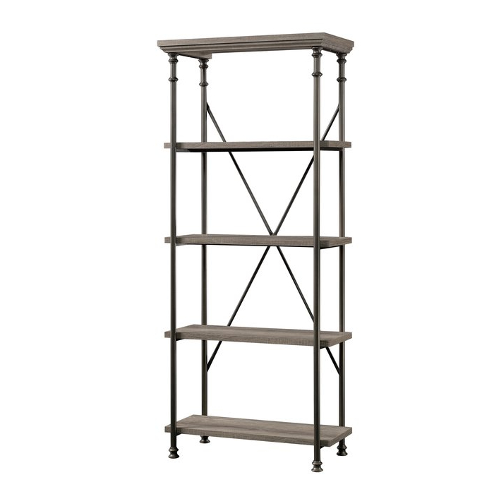 2019 Oakside Etagere Bookcase Within Oakside Etagere Bookcases (View 10 of 20)