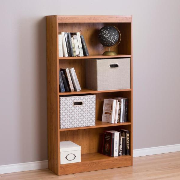 2019 South Shore Axess Country Pine Open Bookcase 10131 – The Regarding Axess Standard Bookcases (Gallery 20 of 20)