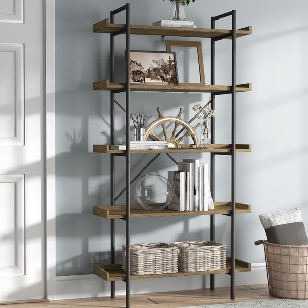 2019 Swindell Etagere Bookcases Inside Swindell Etagere Bookcase (Gallery 1 of 20)
