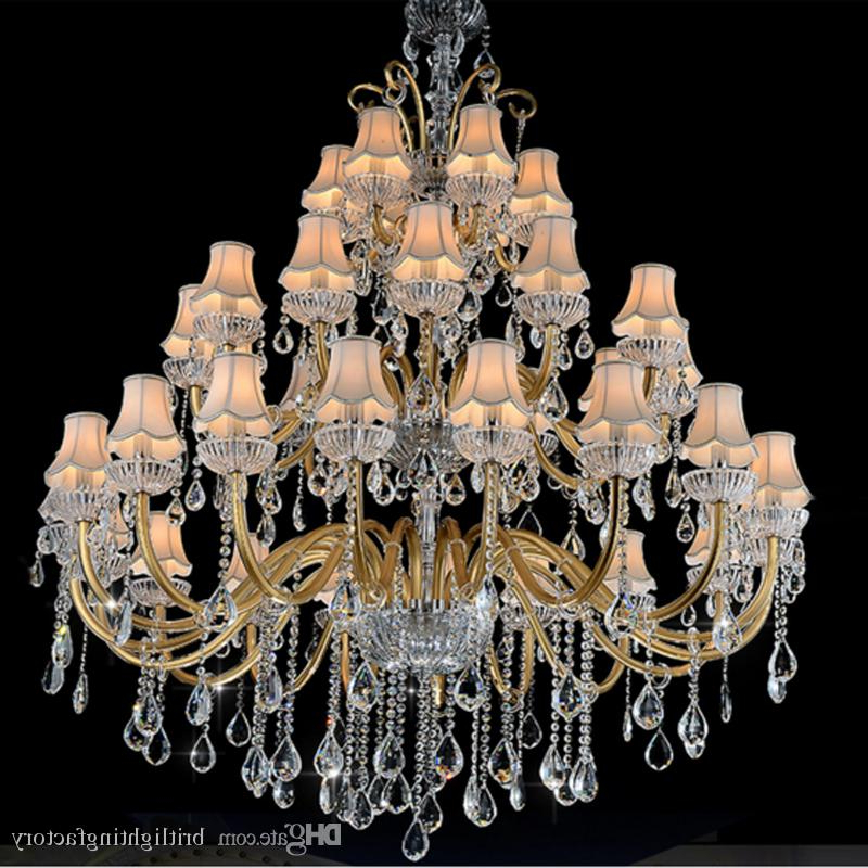 2019 Thresa 5 Light Shaded Chandeliers Inside Synagogue Chandeliers Indoor Hotel Modern Living Chandelier Maria Theresa Modern Hall Chandelier With Shade Hotel Banquet Hall Hallway Light (View 16 of 30)