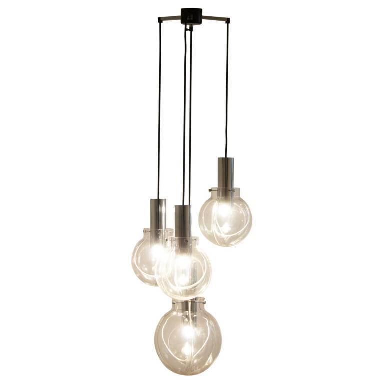 2019 Verlene Foyer 5 Light Globe Chandeliers With Regard To Mercilessly Beautiful Globe Light Chandelier – Fufush (View 18 of 30)
