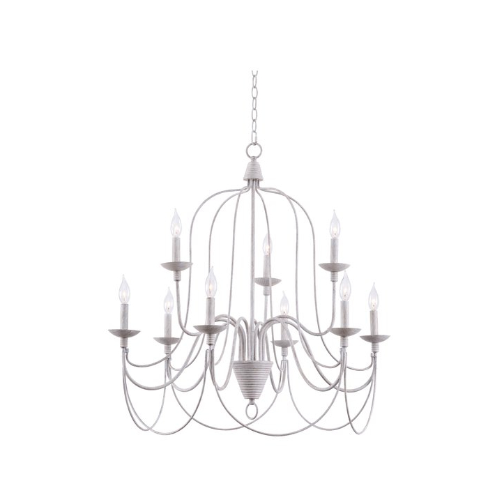 2019 Watford 9 Light Candle Style Chandeliers Intended For Watford 9 Light Candle Style Chandelier (Gallery 6 of 30)