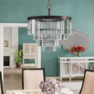 2019 Willa Arlo Interiors Domenique 6 Light Chandelier Willa Arlo Interiors Throughout Sherri 6 Light Chandeliers (View 17 of 30)