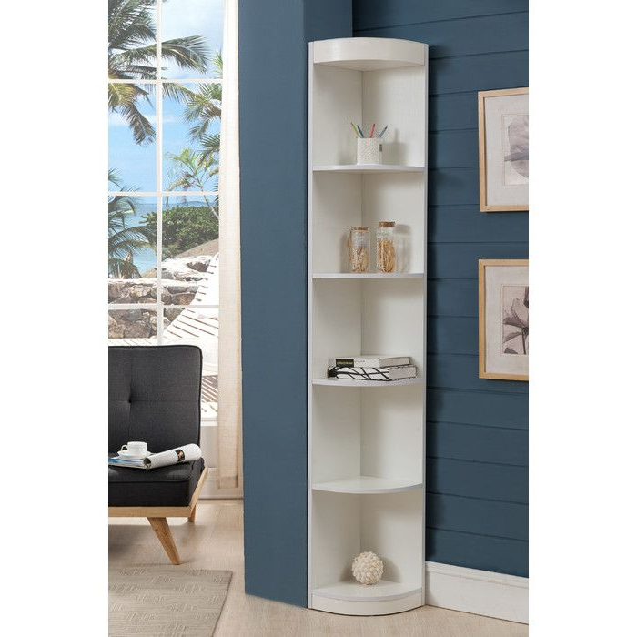 "2019 You'll Love The Courtdale 71"" Corner Unit Bookcase At Within Courtdale Corner Bookcases (View 12 of 20)"