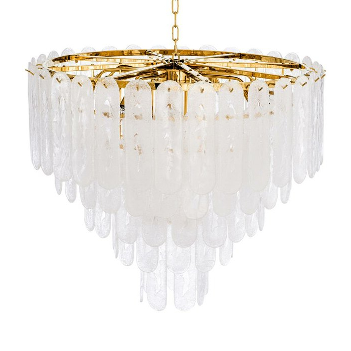 2020 Benedetto 5 Light Crystal Chandeliers For Riveria 14 Light Crystal Chandelier (View 1 of 30)