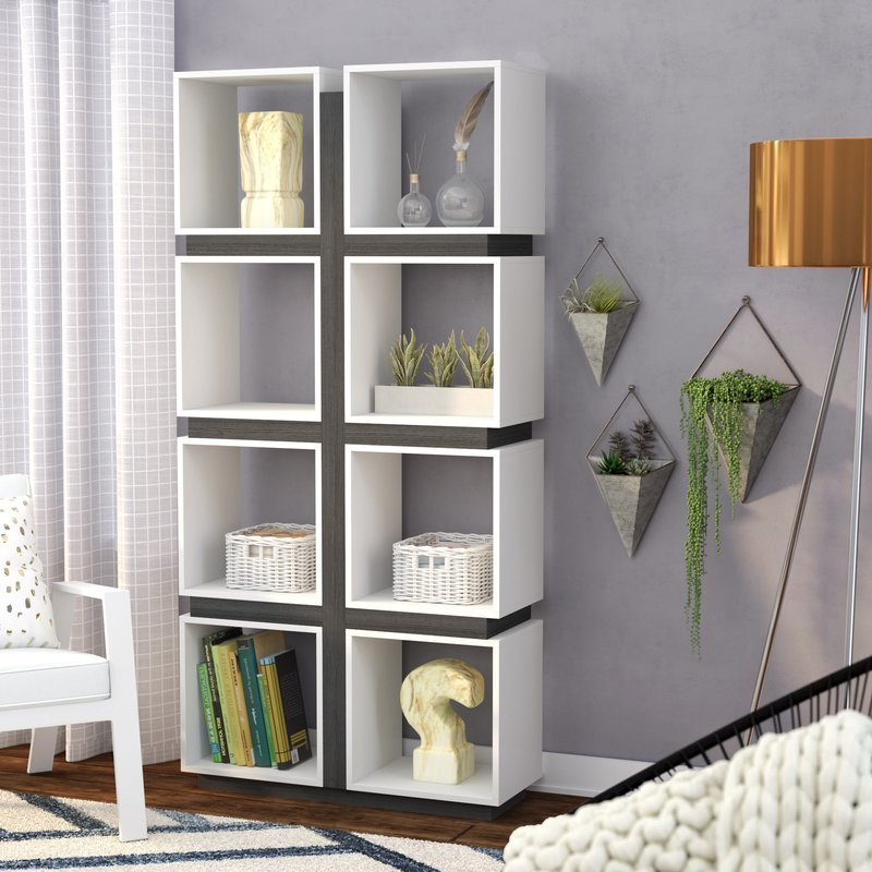 2020 Charron Cube Bookcase Throughout Karlie Cube Unit Bookcases (View 7 of 20)