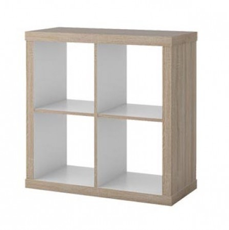 2020 Cube Shelving Unit 7, Sonoma Oak Effect – W78 X H78 X D35,50 Cm With Narrow Profile Standard Cube Bookcases (View 17 of 20)