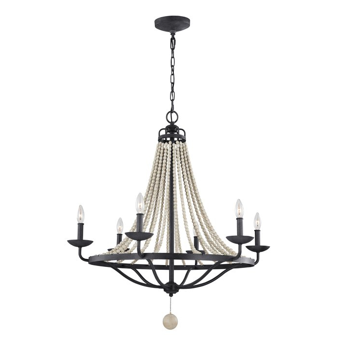 2020 Diaz 6 Light Candle Style Chandeliers With Regard To Granger 6 Light Empire Chandelier (View 10 of 30)