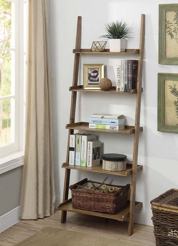 2020 Gilliard Ladder Bookcases For Gilliard Ladder Bookcase In (View 3 of 20)