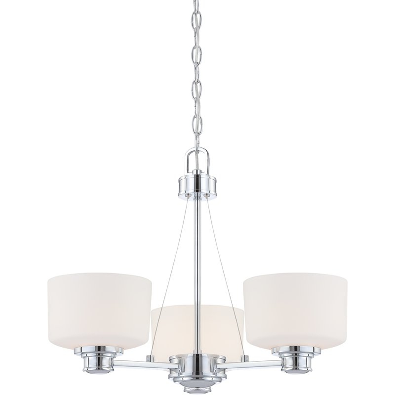 2020 Hayden 5 Light Shaded Chandeliers Pertaining To Isabell 3 Light Shaded Chandelier (View 21 of 30)