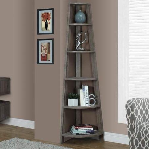 2020 Hewitt Corner Bookcase In (View 9 of 20)
