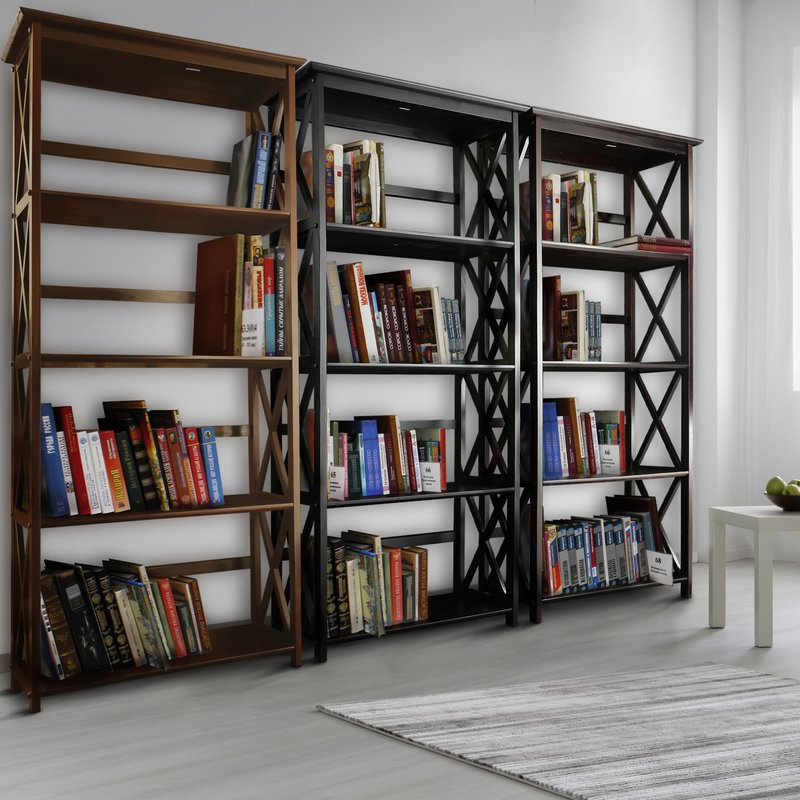 2020 Hitz Etagere Bookcase Intended For Kettner Etagere Bookcases (View 16 of 20)