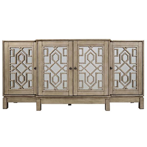 2020 Kieth 4 Door Credenzas Inside Sideboards & Buffet Tables (Gallery 19 of 20)