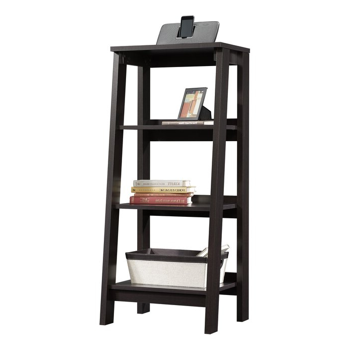 2020 Massena Ladder Bookcase Inside Bordelon Slatted Ladder Bookcases (Gallery 15 of 20)