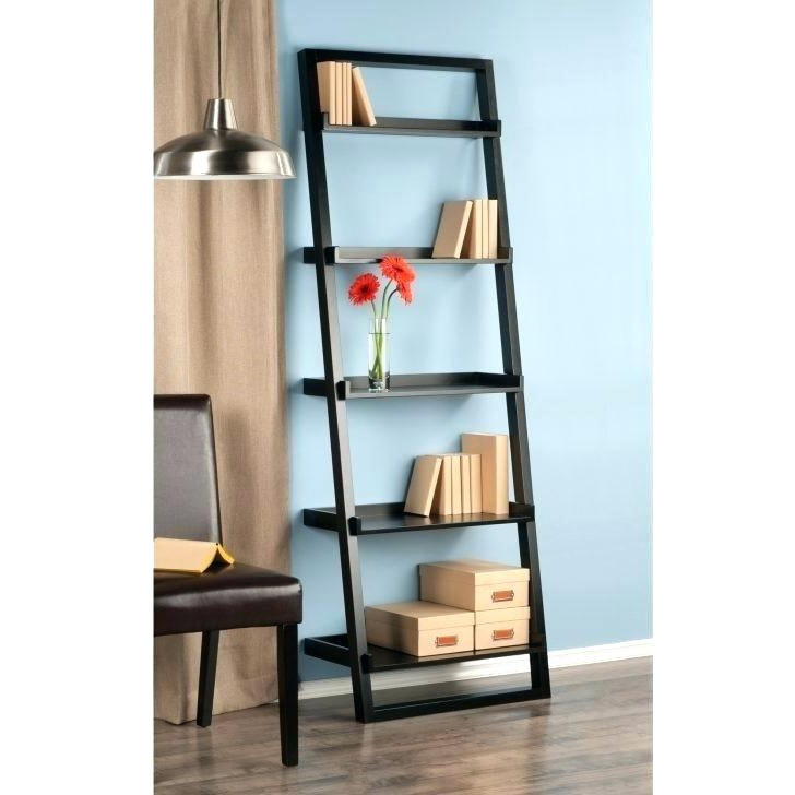 2020 Narrow Ladder Bookcases With Regard To Skinny Ladder Bookshelf – Candycakes (View 12 of 20)
