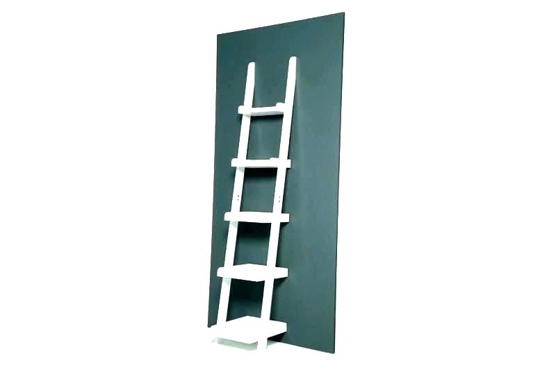 2020 Narrow Shelving Unit Tall Skinny Shelf White Shelves Ladder With Regard To Narrow Ladder Bookcases (View 11 of 20)