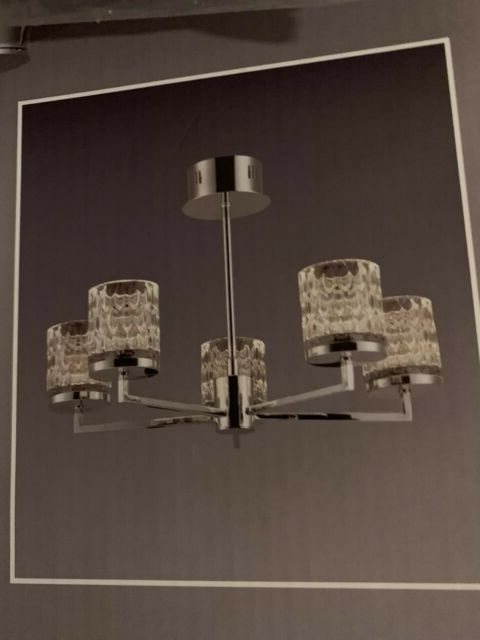 2020 Next Cleo Led 5 Light Fitting Chandelier Lighting With Clea 3 Light Crystal Chandeliers (View 27 of 30)