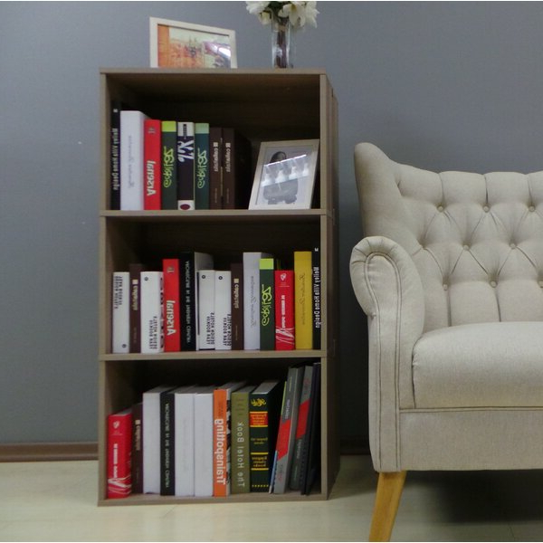 2020 Tami Standard Bookcases Throughout Lucretia Standard Bookcasewrought Studio Coupon (View 1 of 20)