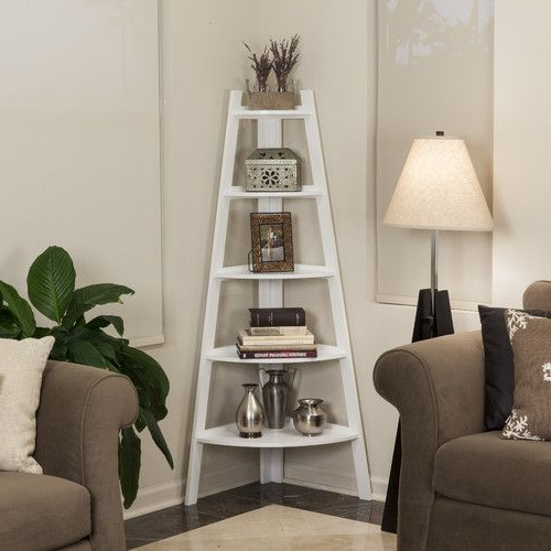 2020 Tisha Corner Bookcases For Tisha Corner Bookcase In 2019 (Gallery 10 of 20)
