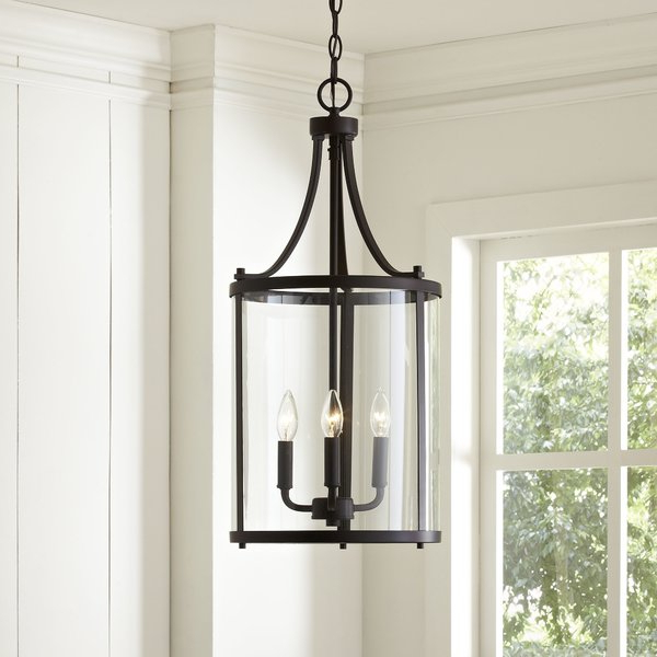 3 Light Lantern Cylinder Pendant Throughout Fashionable 3 Light Lantern Cylinder Pendants (View 1 of 30)