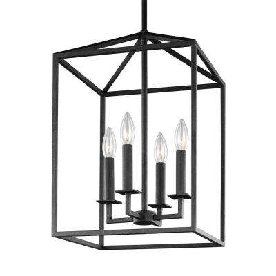 3 Light Lantern Cylinder Pendants Inside 2019 Pendant Lights – Lighting – The Home Depot (View 3 of 30)