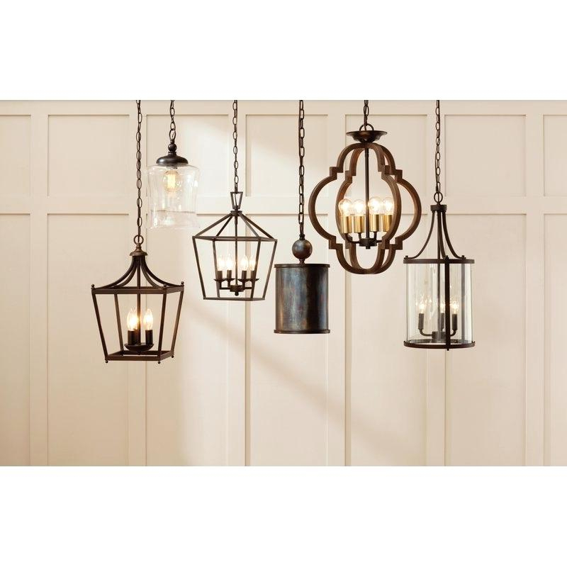 4 Light Pendant – Cetun.co Intended For Most Current Odie 4 Light Lantern Square Pendants (Gallery 26 of 30)