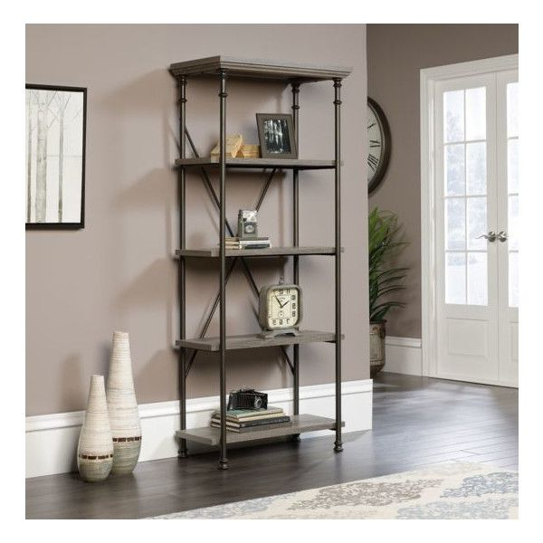 5 Shelf Bookcase, Etagere Pertaining To Most Popular Rocklin Etagere Bookcases (View 13 of 20)
