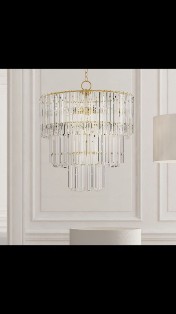 9 Light Crystal Chandelier – Robotena With Regard To 2019 Mcknight 9 Light Chandeliers (View 11 of 30)