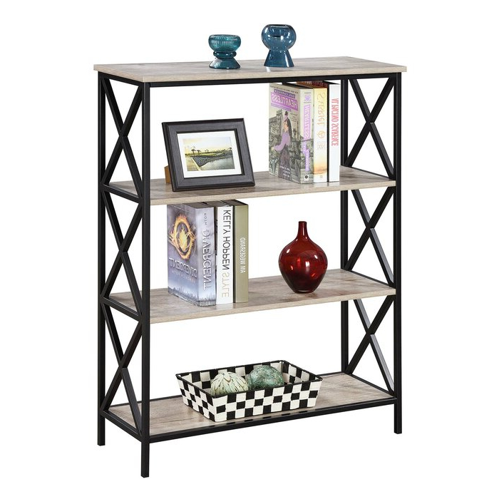 Abbottsmoor Etagere Bookcase For Current Abbottsmoor Etagere Bookcases (View 4 of 20)