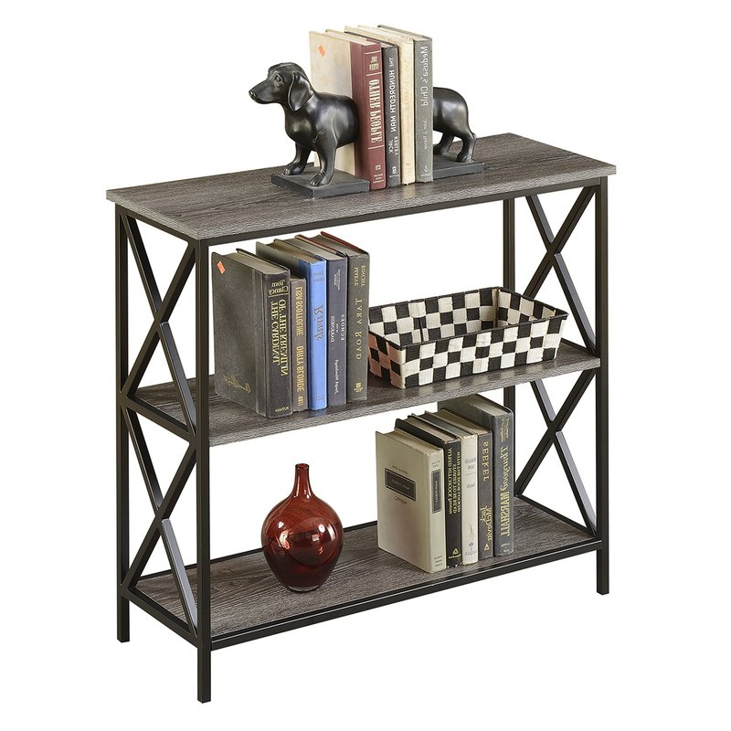 Abbottsmoor Etagere Bookcase Intended For Fashionable Abbottsmoor Etagere Bookcases (View 5 of 20)