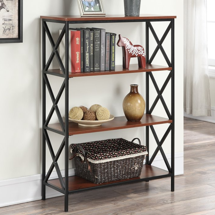 Abbottsmoor Etagere Bookcases With Regard To Most Recently Released Abbottsmoor Etagere Bookcase (Gallery 9 of 20)