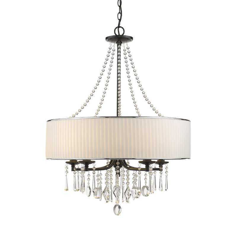 Abel 5 Light Drum Chandeliers With Famous Abel 5 Light Drum Chandelier (Gallery 3 of 30)