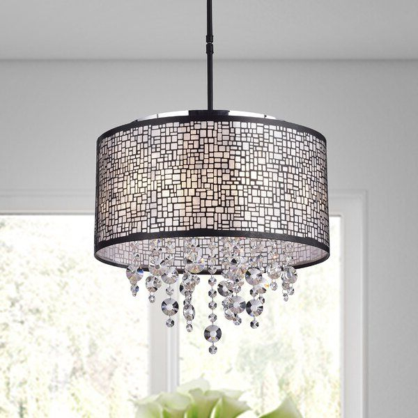 Aikin 4 Light Drum Chandelier (View 5 of 30)