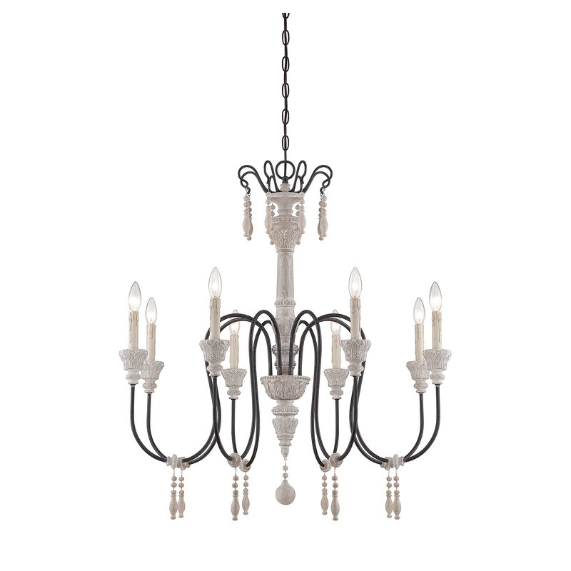 Ailsa 8 Light Candle Style Chandelier With Recent Bouchette Traditional 6 Light Candle Style Chandeliers (View 4 of 30)
