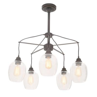 Alayna 4 Light Shaded Chandeliers In Trendy Westinghouse – Chandeliers – Lighting – The Home Depot (View 7 of 30)