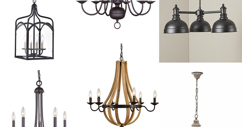 Alayna 4 Light Shaded Chandeliers Intended For Preferred 10 Farmhouse Chandeliers Under $250 – My Someday In May (View 9 of 30)