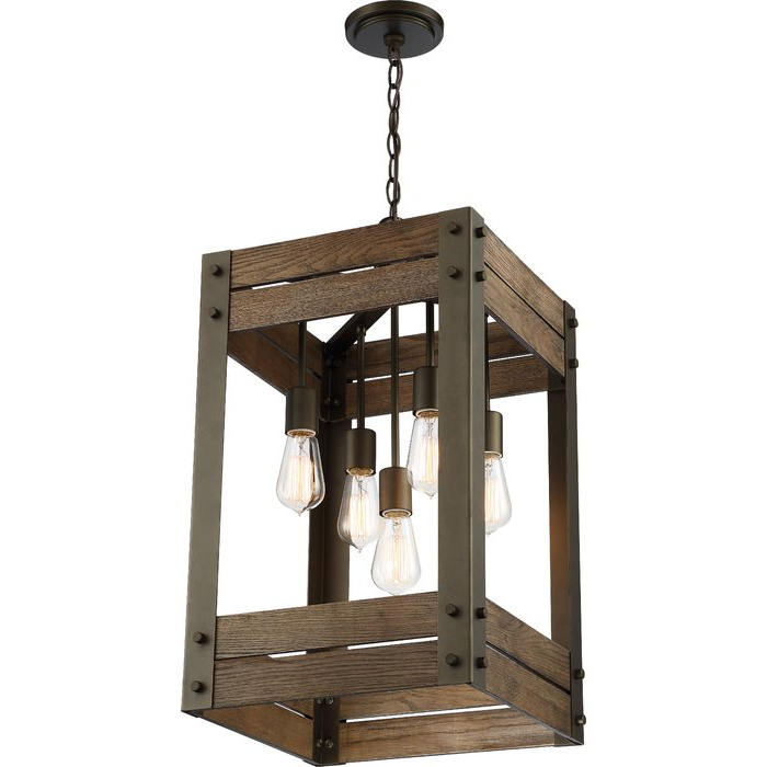 Alayna 4 Light Shaded Chandeliers Pertaining To Famous Cathey 4 Light Square/rectangle Chandelier (View 10 of 30)