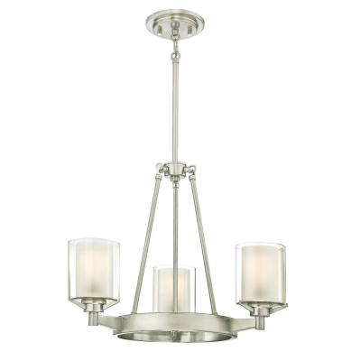 Alayna 4 Light Shaded Chandeliers Pertaining To Widely Used Westinghouse – Chandeliers – Lighting – The Home Depot (View 12 of 30)