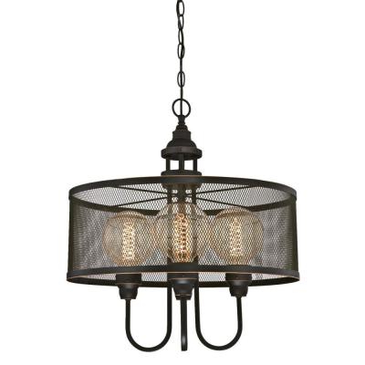 Alayna 4 Light Shaded Chandeliers With Regard To Popular Westinghouse – Chandeliers – Lighting – The Home Depot (View 15 of 30)