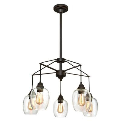 Alayna 4 Light Shaded Chandeliers Within Most Up To Date Westinghouse – Chandeliers – Lighting – The Home Depot (View 16 of 30)