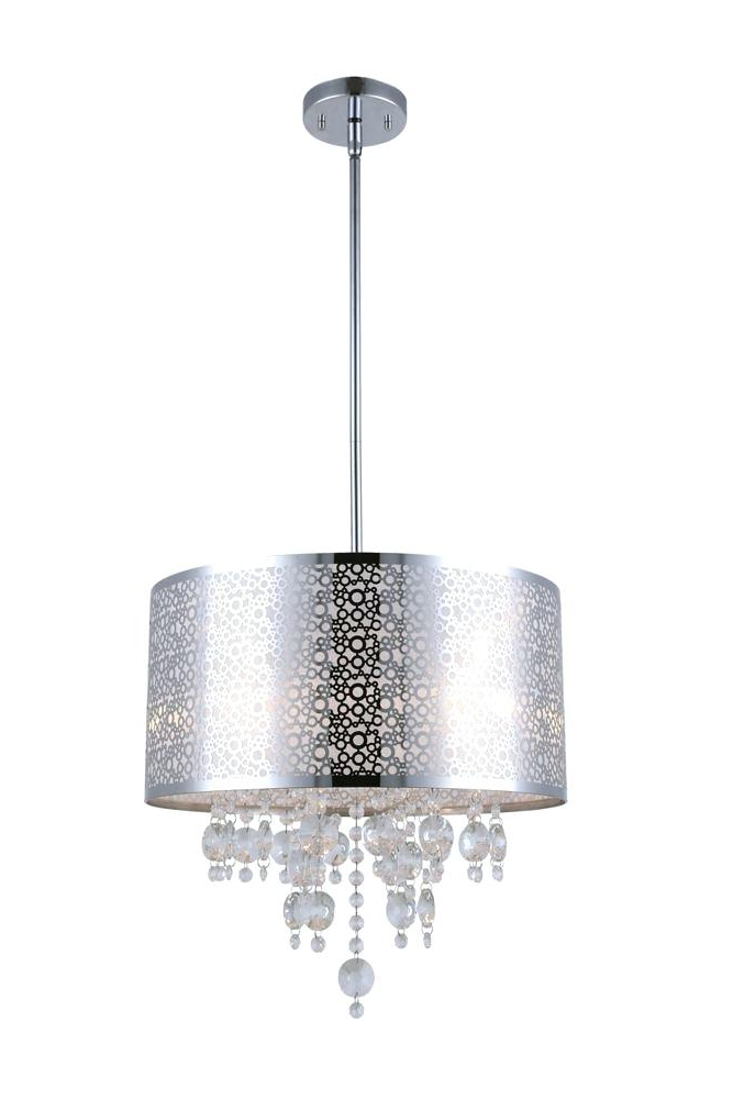 Albano 4 Light Crystal Chandeliers With Regard To 2019 4 Light Chandelier – Leogrullon (View 22 of 30)