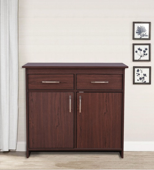Albert Multipurpose Cabinet In Cherry Brown Finishhometown Regarding Widely Used Cher Sideboards (Gallery 19 of 20)