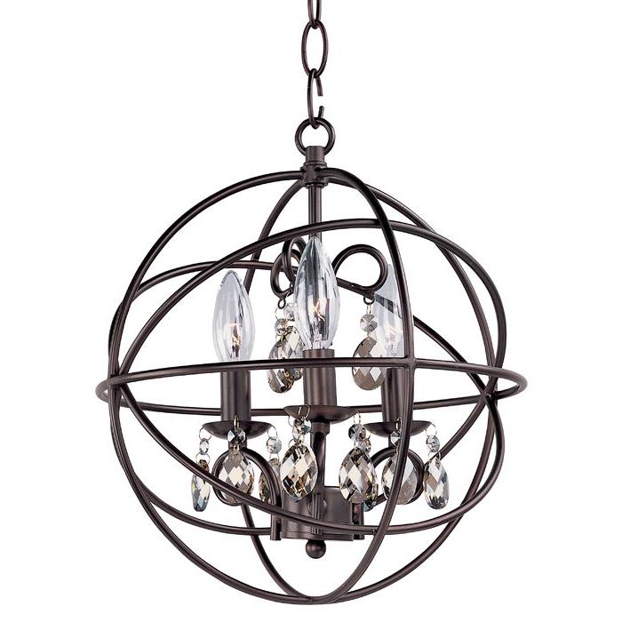 Featured Photo of Alden 3 Light Single Globe Pendants